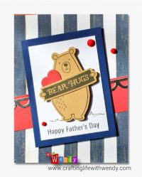 For Father's Day or Birthday - Reversible Sentiment Card