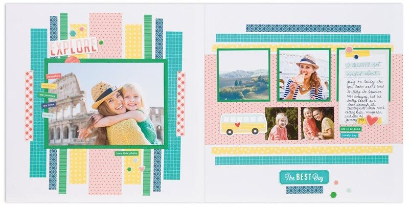 "Workshop Your Way Layout 1 ""The Best Day"" (So Much Happy Paper range)"