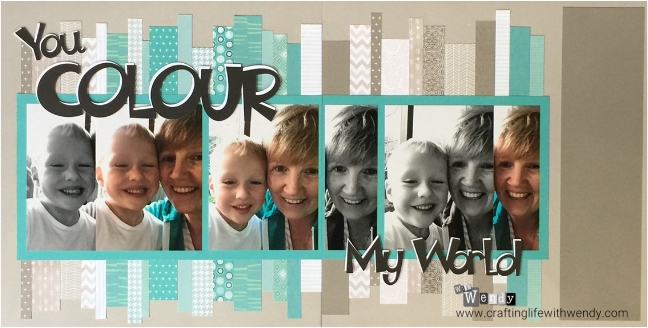 You Colour My World - Exploring Monochromatic & Neutrals (design by WithWendy